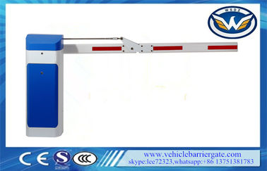 China Traffic Arm Barriers Gate / Toll Gate System Remote Control Folding Arm 90 Degree supplier