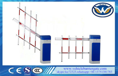 China Access Road Car Park Barriers , Vehicle Barrier Gates With Led Signal Lights supplier