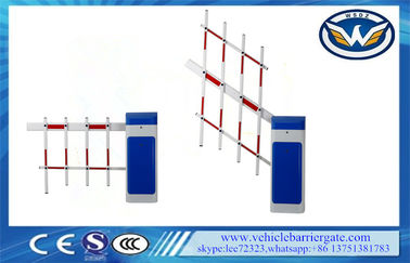China IP44 Automation Driveway Barrier Gates More Than 5 Millions Operation Times supplier