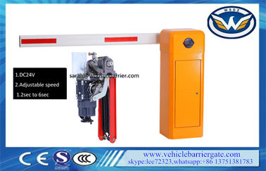 China Straight Boom Automatic Parking Lot Gates Adjustable Speed 140W CE Certificated supplier