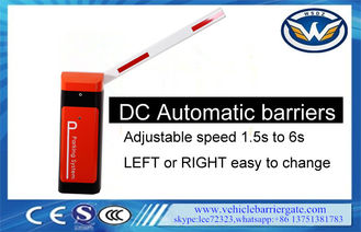 China Road Vehicle Barrier Gate Adjustable Speed 1400rpm Rated Speed Easy Maintenance supplier