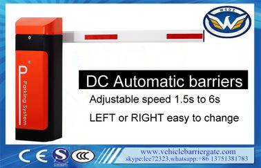 China Automatic Boom Barrier With Rfid Car Park Boom Gates DC Battery supplier