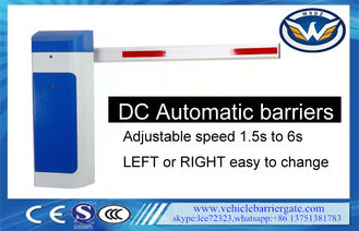 China DC Motor Vehicle Barrier Gate barreras vehículo 6m Automático supplier