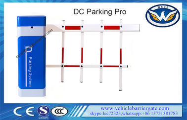 DC 24V Working Voltage Automatic Boom Barrier Two Fence Arm Residential Gate