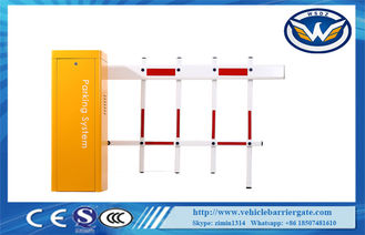 China Stainless Steel Automated Car Parking System , Access Control Traffic Barrier Gate supplier