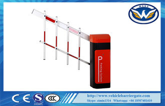 China Led Light Rubber Boom Road Safety Traffic Barrier Gate For Access Control System supplier