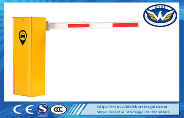 China Low Cost Economical Vehicle Barrier Gate With DC Motor Brushless 140W supplier