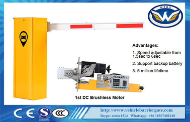 Economical DC Motor Automatic Vehicle Barrier 140W Rated Power IP44 Degree