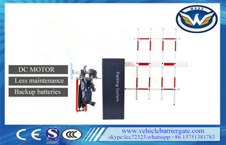 China DC 24V Motor Less Maintenance Automatic Barrier Gate System Swing Away supplier