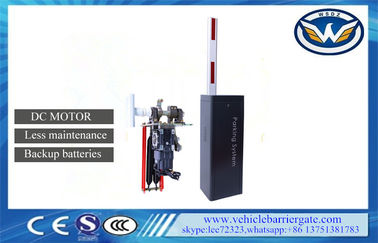 China Remote Control Toll Barrier Gate 1.5sec Speed Maintenance Free Backup Batteries supplier