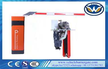 Access Control System Parking Barrier Gate , Barrier Boom Arm Gate