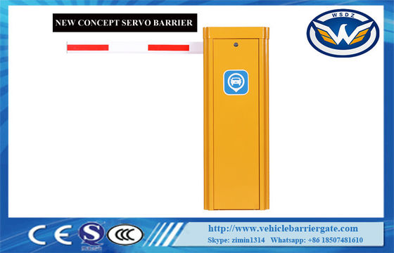 China 8M Arm Servo Motor Barrier DC 24V Backup Battery Ip55 400W Automatic Barrier gate with telescopic arm supplier