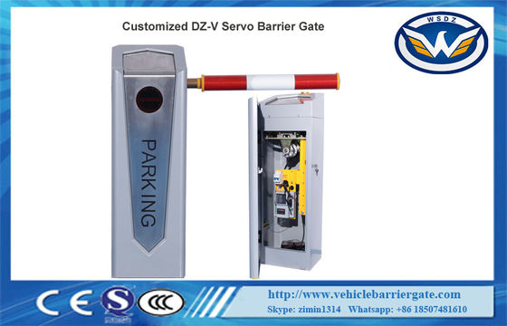 CE ISO 0.5S High Speed 200W Servo Motor Automatic Boom Barrier Gate 10 Millions Lifetime