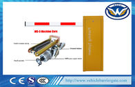 Stainless Steel Automated Car Parking System , Access Control Traffic Barrier Gate