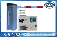 China Parking Lot Arm Barrier Automatic Boom Barrier System Gate Servo motor factory