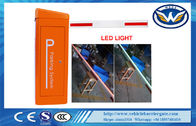 China 0.6S High Speed Gate Vehicle Barrier Gate 24V DC Motor LED Barrier company