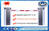 Adjustable Speed Auto Barrier Gate System 100m Remote Control Distance 210W