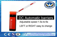 DC Vehicle Barrier Gate Road Barriers Adjustable Speed1.5-6s