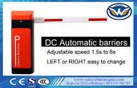 China Durable Automatic Gate Barrier System DC Motor IP44 1.5-6s Time For Up / Down factory