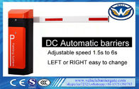 China Automatic Boom Barrier With Rfid Car Park Boom Gates DC Battery distributor
