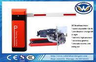 12V Backup Battery Traffic Barrier Gate Brushless DC Motor RS485 Speed Adjustable