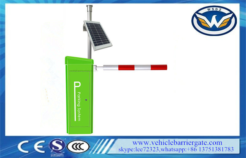 Solar Safety Photocell Vehicle Barrier Gate Arm Automatic Barrier