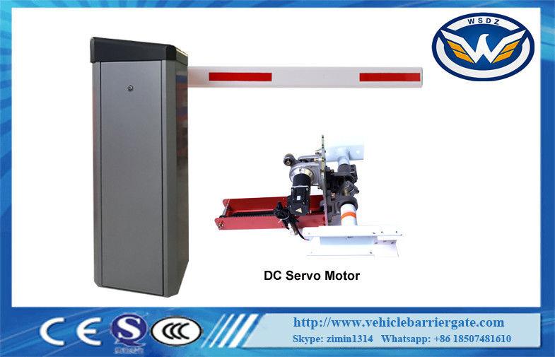 China Speed Adjustable Car Parking Barriers With 24V Brushless Servo Motor supplier