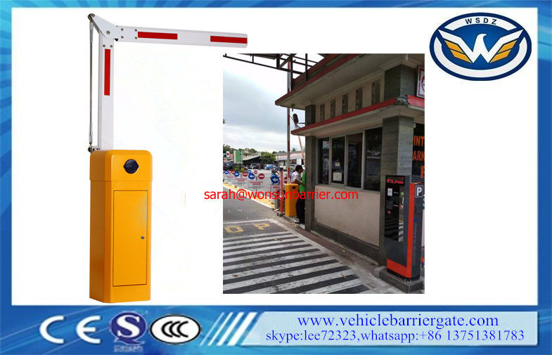 8 Meters Boom Barrier Gate Operator Folding Arm Anti