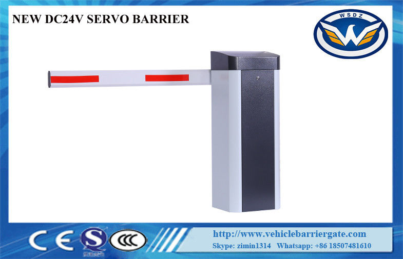 Speed Adjustable Driveway Barrier Gates Inverter Motor Adopting Full