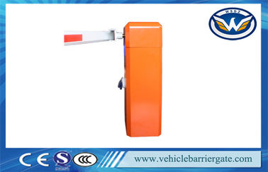 China Automatic Straight Boom Barrier Gate With Arm Auto Reverse Parking Lot Barrier factory