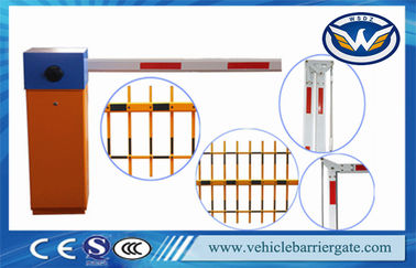 China Professional IP44 Heavy Duty Car Park Security Barriers Electric Boom Gates factory