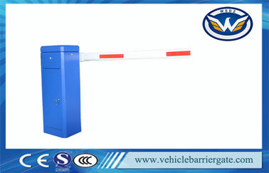 China Straight Boom Vehicle Barrier Gate Automatic Traffic Barrier With Single Bar factory
