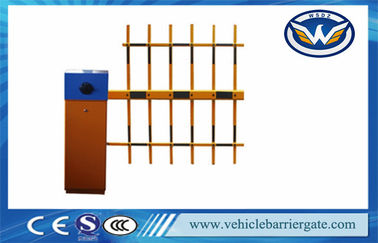 China Security Barriers And Gates Vehicle Barrier Gate With 2.4G Rfid Long Rang Reader Handle factory