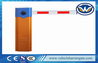 China Vehicle Access Control Automatic Barrier Gate With Max 6m Straight Arm distributor