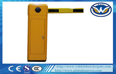 China Highway Toll Collection Drop Arm Barrier , Automotive Access Control Parking Lot Barrier Gates factory