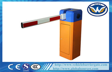China 6S / 3S  Single Straight Boom Car Park Security Barriers With Fan Colling Machine factory