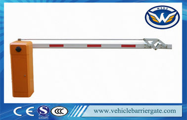 China Automatic Folding Arm Car Park Barriers Gate For Highway Toll Collection distributor