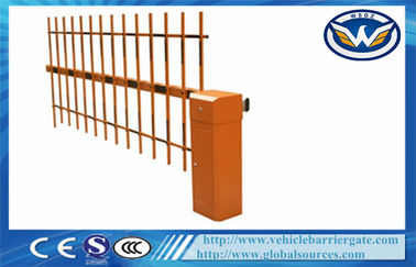 China RFID Automated Motorised Boom Gate Intelligent Barrier Parking Barrier Retractable distributor