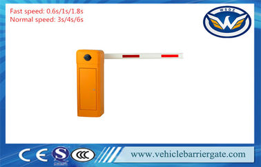China Safety Car Automatic Barrier Gate , Waterproof / Rustproof Electric Boom Gates factory
