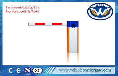 China OEM Folding / Fence Arm Parking Lot Barrier Gates Automatic Boom Barrier AC220V factory
