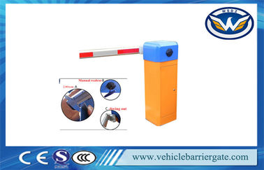 China Automated Barriers Highway Toll Barrier Gate With Remote Controling RS485 distributor