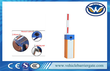 China Intelligence Automatic Gate Barrier Heavy Duty Parking Barrier Gate By Remote Control distributor