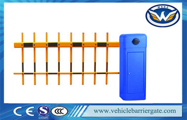 China Intelligent 2 Fence Arm Parking Lot Barrier Gates For Parking Lot Management factory