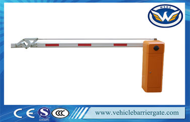China Car Parking Barrier Gate Arm Anti - collision With Straight  Boom  Length is 1 - 4.5 meters factory