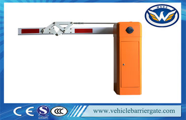 China 180 Degree Boom Car Park Barrier Gate , Electronic Vehicle Barrier Gates factory