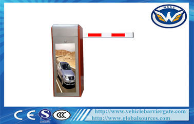 China Waterproof Heavy Duty Driveway Barrier Gates , Automatic vehicle barrier system CE factory