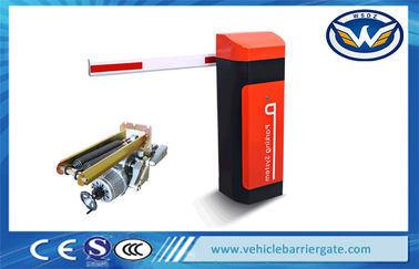 China Road Safety Automatic Car Parking Barriers , Access Control Traffic Barrier Systems distributor