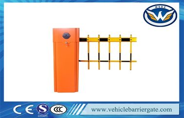 China 120w Heavy Duty Electric Entrance Car Park Gates For Access Control System factory