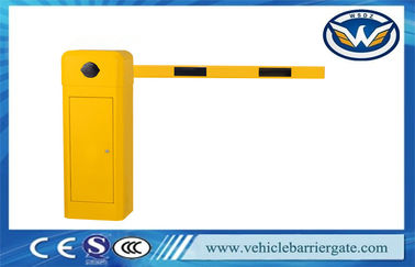 China Commercial Intelligent Yellow Harga Vehicle Barrier Gate For Access Control factory