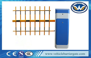 China Vehicle Access Controlled Automatic Parking Lot Gates With Boom Length 6m factory